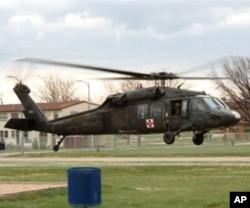 امریکی بلیک ہاک ہیلی کاپٹر