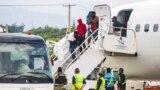 Hoa Kỳ tổ chức các chuyến bay hồi hương đến Haiti hôm 19/9/2021.