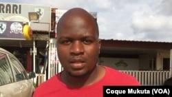 Francisco Teixeira, do Movimento de Estudantes Angolanos