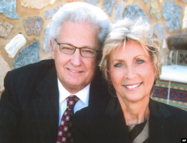 FILE - Hobby Lobby co-founders David and Barbara Green are seeking an exemption from part of the federal health care law that requires it to offer employees health coverage that includes access to the morning-after pill.