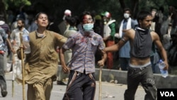 تشدید سرکوبی مظاهره کنندگان و خبرنگاران در پاکستان