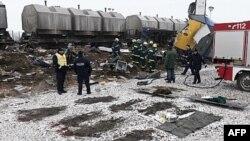 Železnička nesreća u Nemačkoj, 30. januar, 2011.