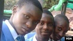 FILE: Students visiting the 2013 Zimbabwe Book Fair. (Photo/Arthur Chigoriwa)