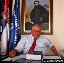 Serbia's main opposition leader Vojislav Šešelj, who was found guilty by an international court of crimes against humanity, denounced the land-swap plan between Serbia and Kosovo.