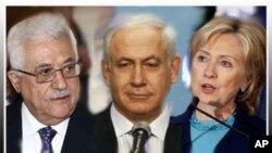 امریکی، اسرائیلی اور فلسطینی رہنماء (فائل فوٹو)