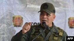 """El ministro de Defensa de Venezuela, el general Vladimir Padrino López, pronunció un discurso durante la ceremonia de lanzamiento del """"Plan de Republica"""". Foto de archivo."""