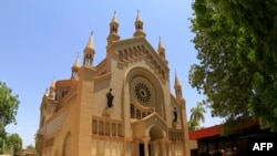 A view of St. Matthew's Catholic Cathedral near the Sudanese capital Khartoum, where a Christian woman has been sentenced to death for apostasy.