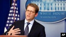 Jurubicara Gedung Putih Jay Carney mengatakan Presiden Barack Obama yakin reformasi imigrasi harus 'menyeluruh' (foto: dok).