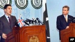 """""""لندن کانفرنس میں پاکستان کے تحفظات اور مشاہدات کو ملحوظ خاطر رکھا جائے گا"""""""