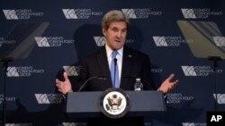 美國國務卿克里於11月29日。