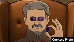 Кадр из фильма «Маркс: перезагрузка»
