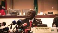 Lawmakers From Zimbabwe's Ruling and Opposition Parties, Debate Mugabe's Leadership