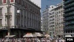 Prosvjedi penzionera u Grčkoj