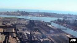 Čeličana uz obalu jezera Mičigen, u gradu Geriju, nedaleko od Čikaga.