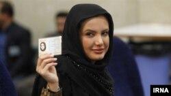 یکی از زنانی که برای نامزدی در انتخابات ریاست جمهوری ایران ثبت نام کرد