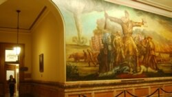 Kansas Struggle over Slavery Turns Violent