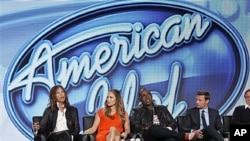 노래 경연을 벌이는 미국 텔레비전쇼 '어메리칸 아이돌'