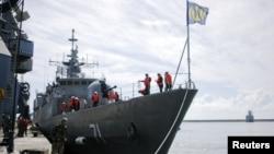 """El gobierno iraní dijo haber enviado los barcos de guerra como portadores de """"un mensaje de paz""""."""