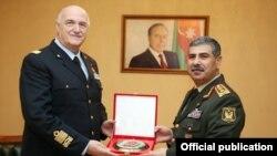 Zakir Həsənov və Mirko Zuliani