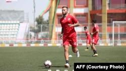 فیصل شایسته، کپتان تیم ملی فوتبال افغانستان