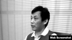 """環保大V董良傑在央視上""""被亮相""""(網絡圖片)"""