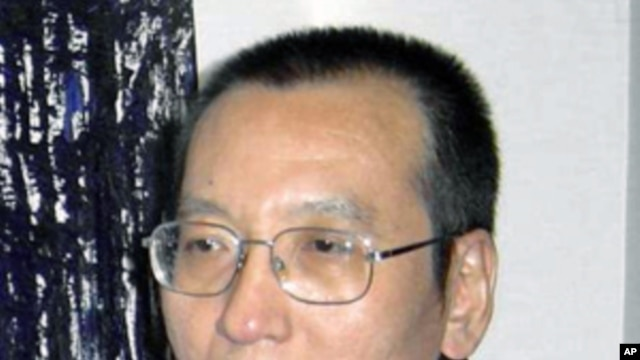 Chinese democracy activist Liu Xiaobo