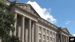 미국 수도 워싱턴의 상무부 건물 (자료사진)