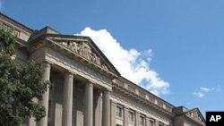 수도 워싱턴 디씨에 소재한 미 상무부 건물 (자료사진)