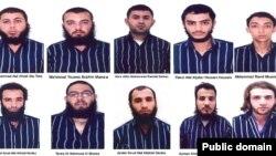گرفتار ہونے والے افراد