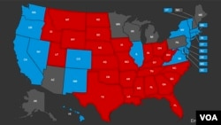 2016 U.S. presidential election map