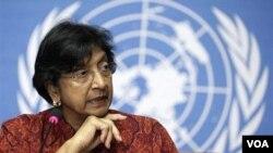 Pimpinan HAM PBB, Navi Pillay akan membahas kekerasan di Suriah dengan DK PBB, Kamis (18/8).