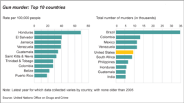 World Gun Murder Rate