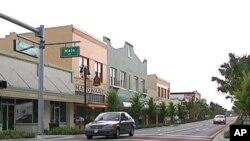 Glavna ulica u Titusvilleu, Florida