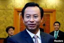 """Nguyên Bí Thư Đà Nẵng Nguyễn Xuân Anh, một trong những """"hạt giống đỏ"""" bị kỷ luật gần đây."""