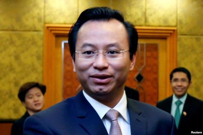 Nguyễn Xuân Anh, lúc còn là Bí Thư Đà Nẵng.