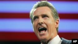 Archivo - El gobernador de California, Gavin Newsom, anunciará una moratoria a la pena de muerte.