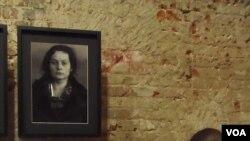 32岁的家庭主妇伊丽莎白-沃伊诺娃(上)因为向日本使馆工作人员提供住房,1937年9月被捕,11月被处决。(美国之音白桦拍摄)