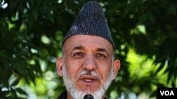 Presiden Afghanistan Hamid Karzai mengutuk serangan di Kandahar. (foto: dok)