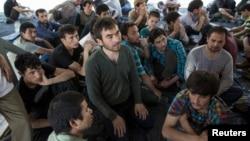 Beberapa pencari suaka Uighur di Thailand (foto: dok).