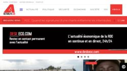 Le site congolais Actualité.cd.
