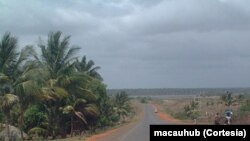 La route de la province de Manica, Mozambique