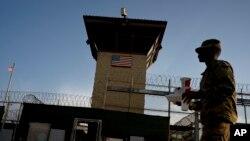 Тюрьма в Гуантанамо (архивное фото)