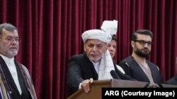 افغان صدر اشرف غني