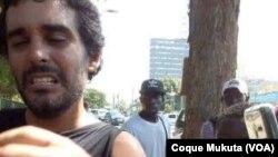 Luaty Beirão atacado por cão policial
