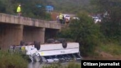 Unki Mine Bus Accident.
