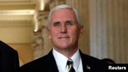 Le vice-président des Etats-Unis, Mike Pence, à Washington, 16 novembre 2017.
