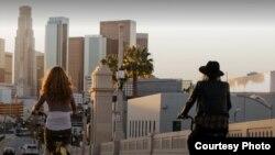 小黄车曾出现洛杉矶街头