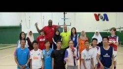 Peserta Program Kunjungan Pebasket Muda Indonesia ke AS