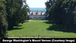 Mount Vernon today (Courtesy of George Washington's Mount Vernon)