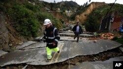Καταστροφικές βροχοπτώσεις στη Βολιβία